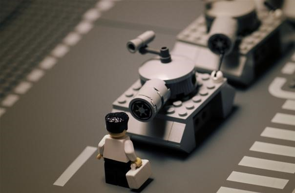 Classic Pictures Recreated with LEGO