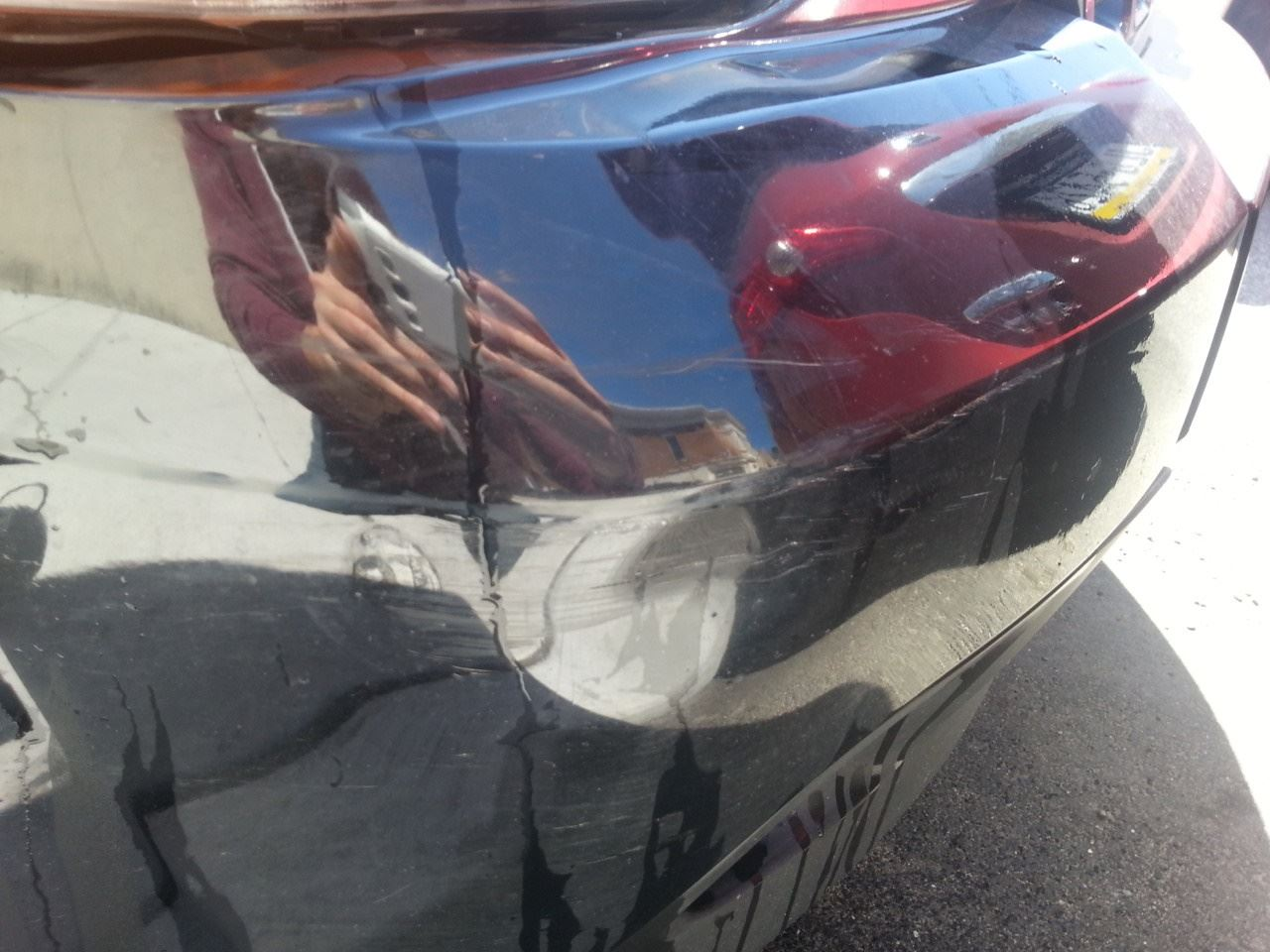 Remove Paint From Bumper Cover