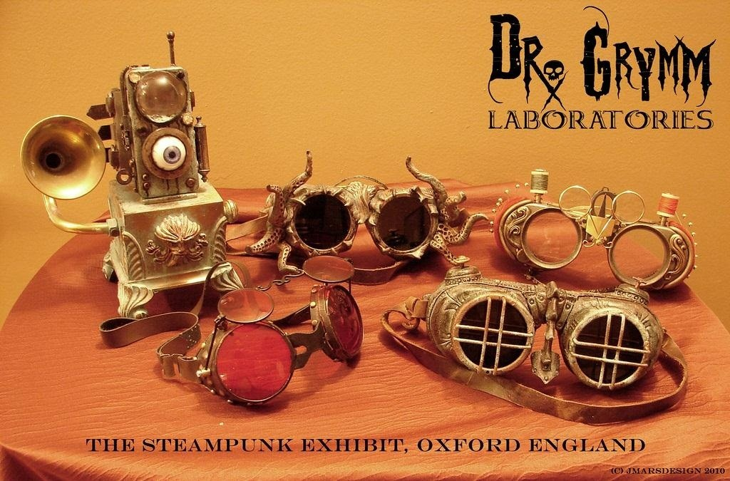 Steampunk R&D Podcast 02: Joey Marsocci on Professional Steampunking