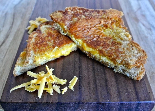 cheese sandwich crispy bacon grilled cheese if you love grilled cheese ...