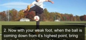 Do a Reverse Crossover freestyle soccer trick