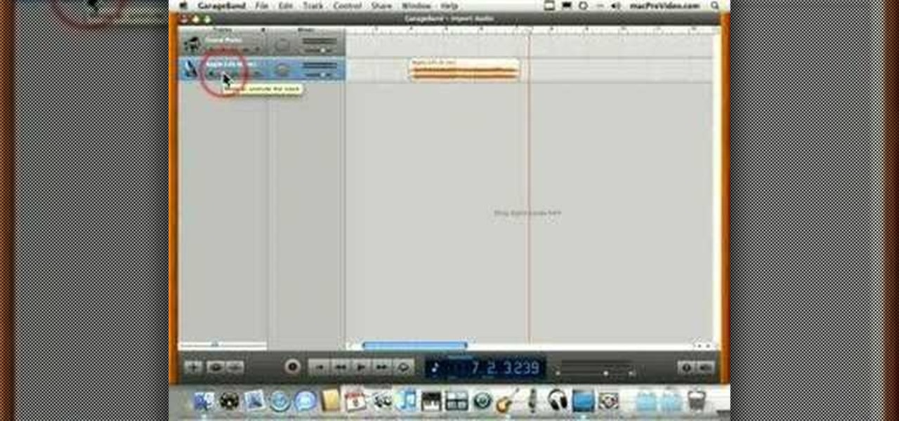 How to Import an audio file into GarageBand « GarageBand
