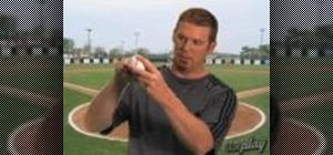 Grip a baseball with MLB reliever J.J. Putz