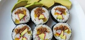 Cook the Korean dish kimbab