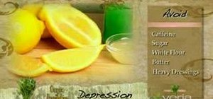 Prevent depression with nutrition