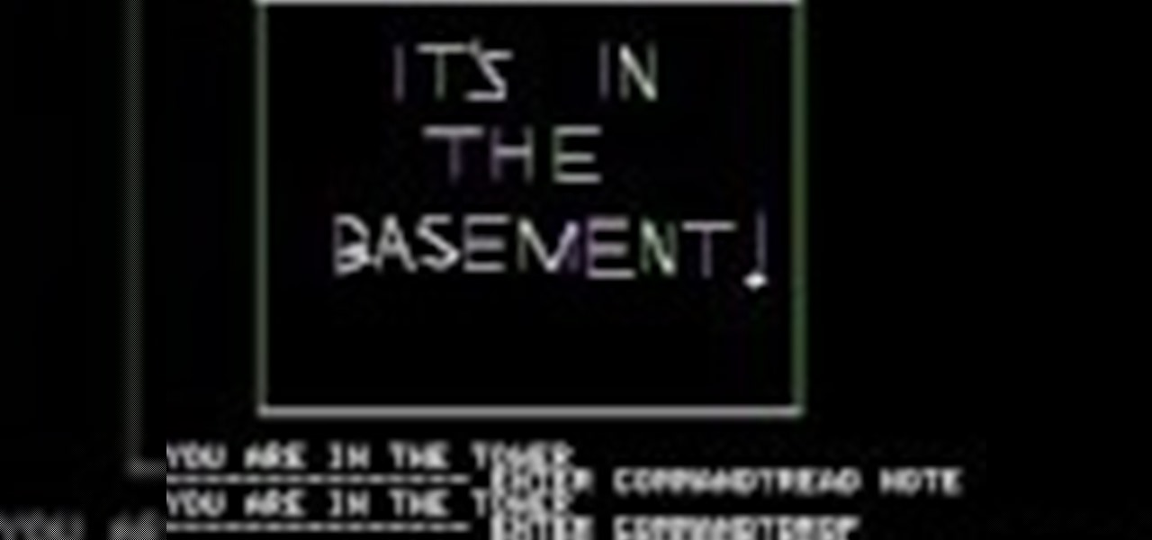Complete the Game Mystery House for Apple II