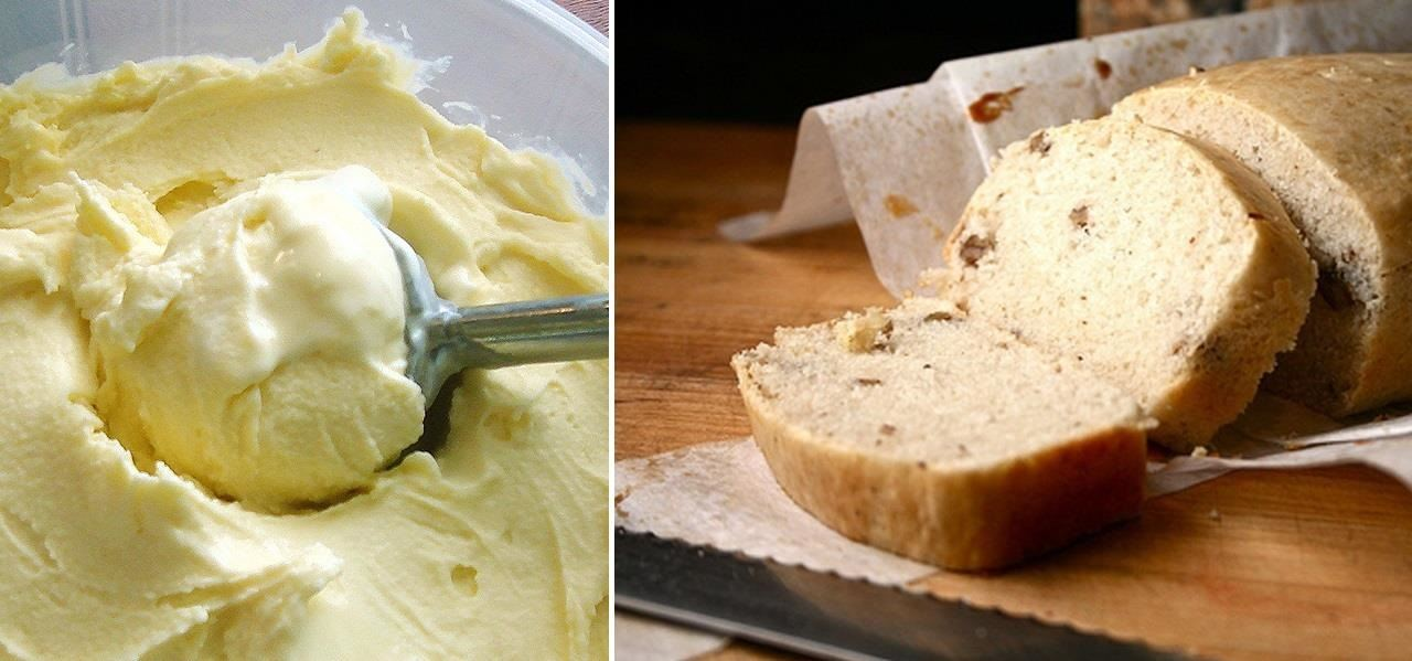 How to Turn a Pint of Ice Cream into a Freakin' Loaf of Sweet Bread
