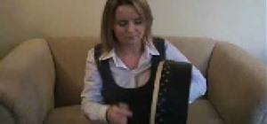 Play the bodhrán drums with dynamics