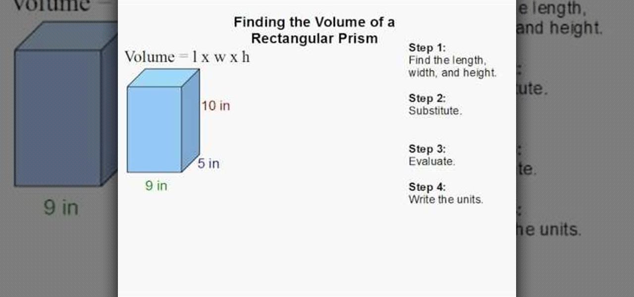 Volume Of A Rectangular Prism Formula | www.pixshark.com ...