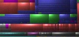 Free up hard drive space using WinDirStat