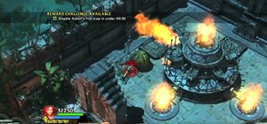 Disable Xolotl's fire trap in Lara Croft and the Guardian of Light on Xbox 360