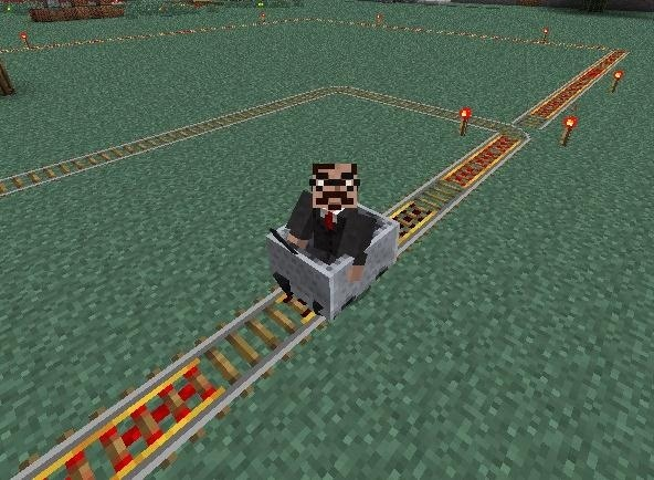 How to Make Your Minecart Stations Better Than Ever in Minecraft 1.3