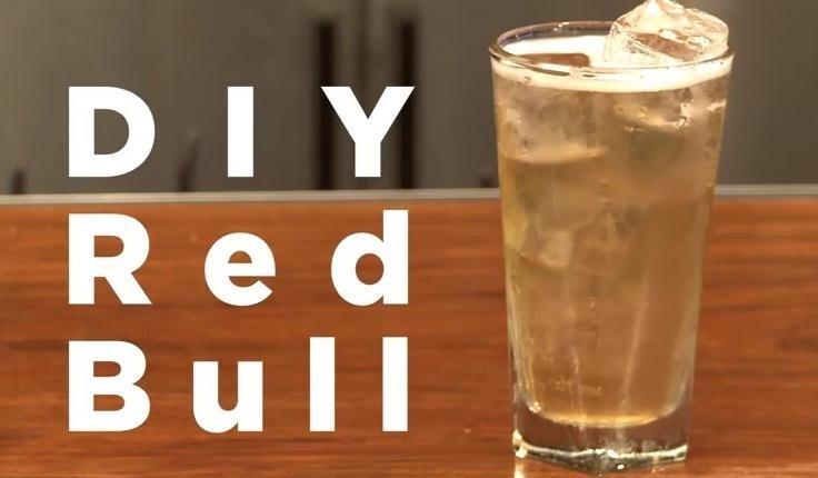 How to Make Your Own Red Bull Energy Drink at Home—Minus All of the Chemicals