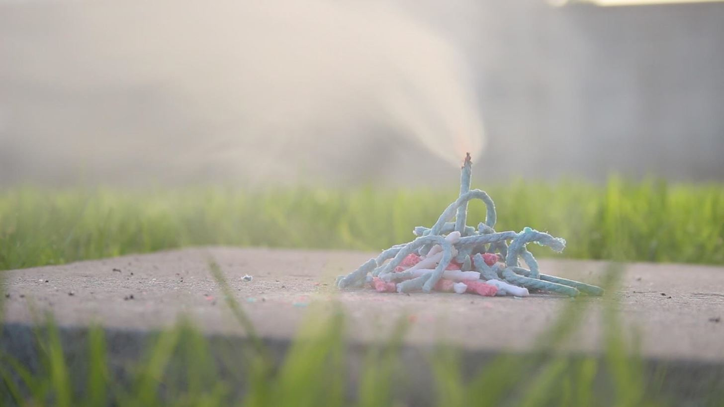 Improvised Handheld Fireworks: How to Make Homemade Sparklers