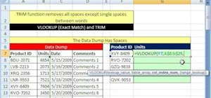 Run advanced VLOOKUP queries in Microsoft Excel