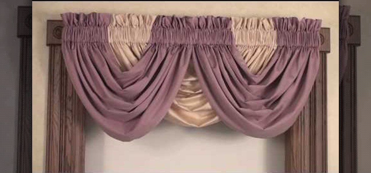 pink rose valances how to create a beautiful window treatment by styling a draping