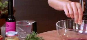 Make vinaigrette dressing