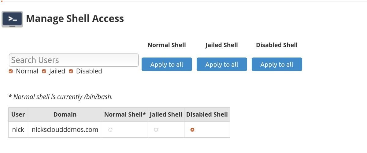 How to Protect Your cPanel Server from Backdoor Access, Plus a Warning for the Disabled Shell Access Setting in WHM