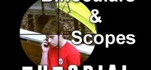 Make binoculars and gunscopes effects for your video