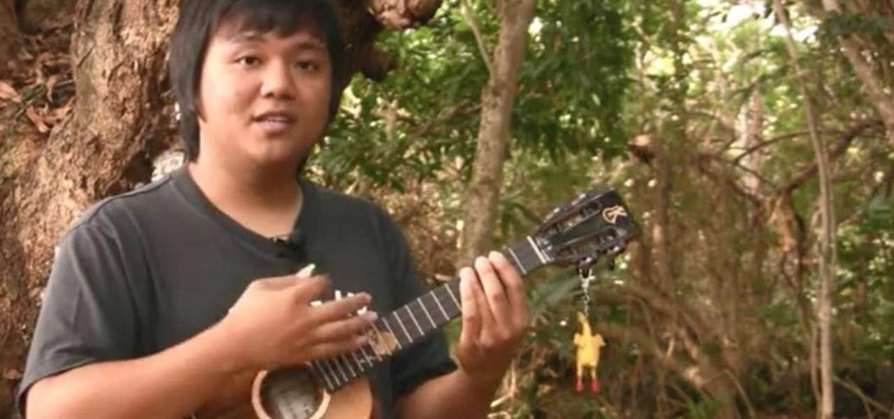 "Play the Ukulele Version of Third Eye Blind's Song ""Never Let You Go"""