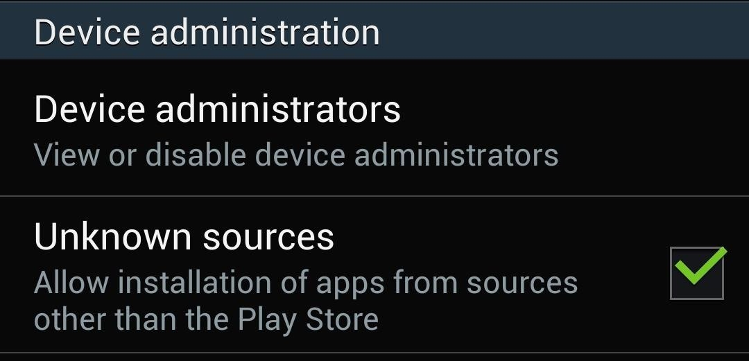 """How to Disable the """"Clear Defaults"""" Popup Alert When Setting Default Apps on Your Samsung Galaxy S4"""