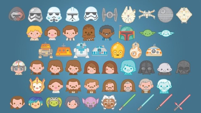 How to Send Star Wars Emojis with Text Messages