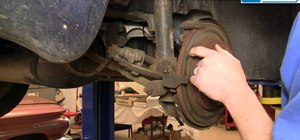 Repair rear disc brakes on a 1998-2004 Dodge Intrepid