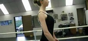 Have correct ballet placement & postural alignment