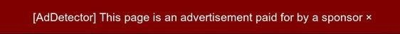 Instantly Detect When Online Articles Are Actually Ads