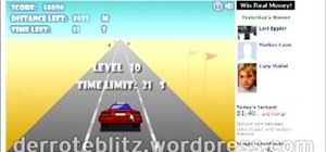Cheat and remove the traffic on Crazy Taxi (08/17/09)