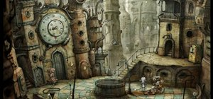 Solve all the puzzles in part four of the game Machinarium