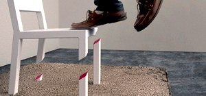 Fully Functional Gravity-Defying Chair