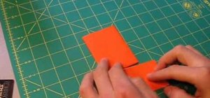 Make a money clip from duct tape