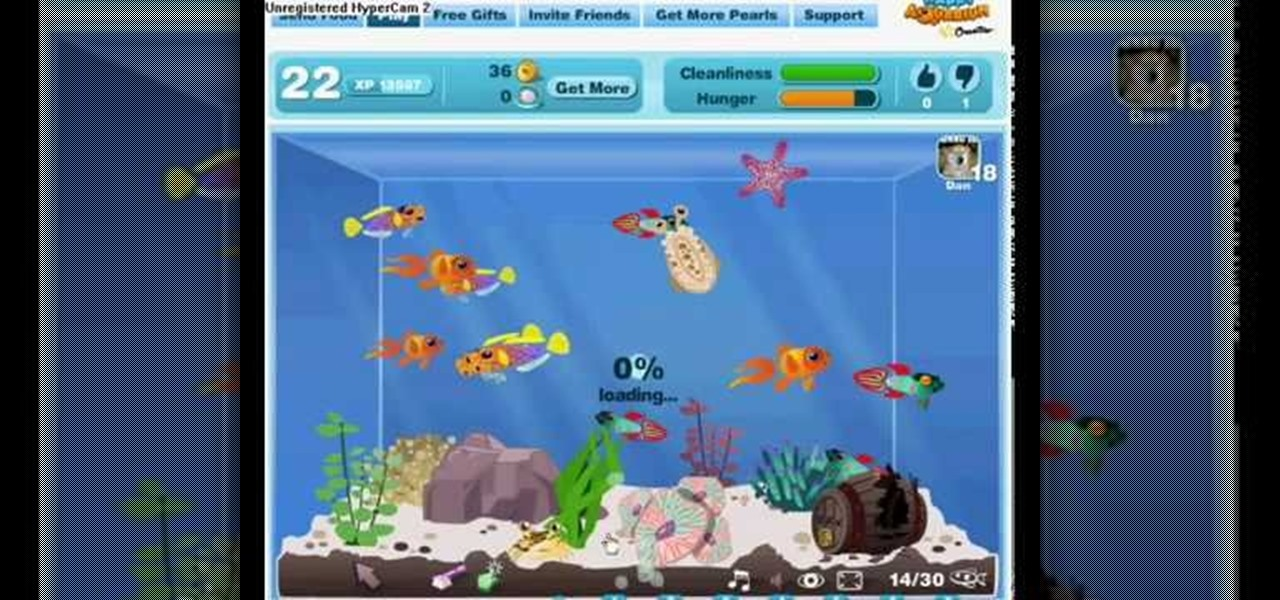 How to Hack Happy Aquarium for EXP with CE 5 5 (01/11/ 10