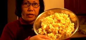 Make Fresh Caramel Popcorn in Under 5 Minutes