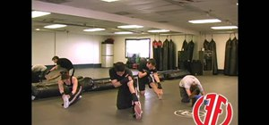 Do a 15 minute stretch / warmup to get ready for Krav Maga fighting