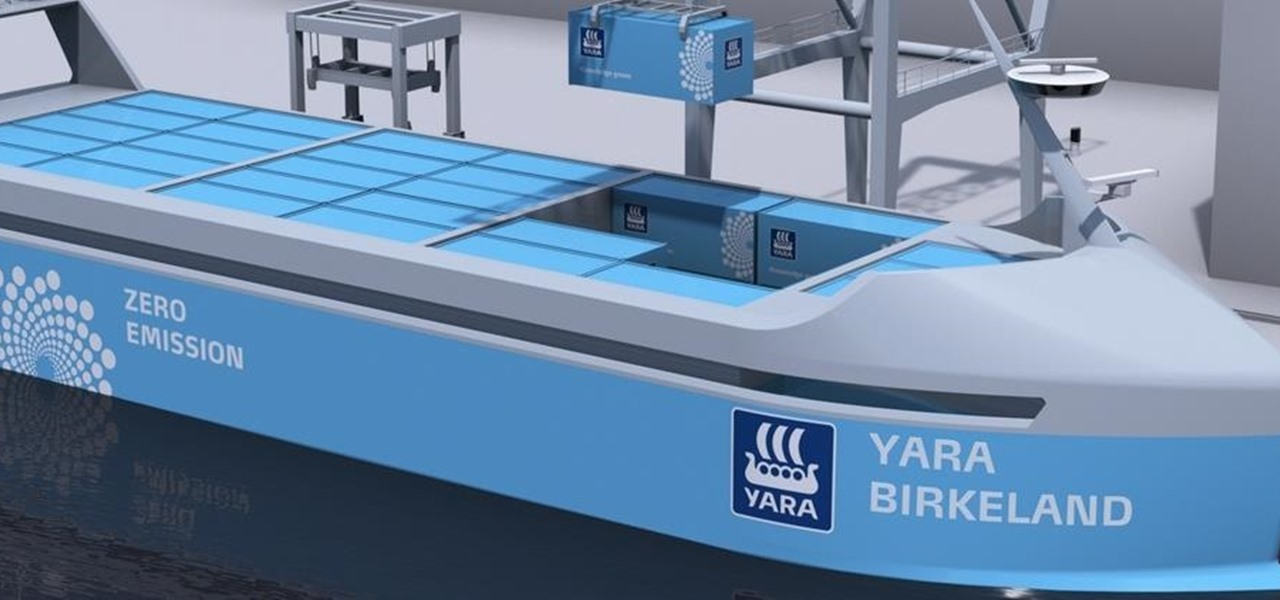 'Pilotless' Commercial Ship to Set Sail by 2020