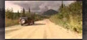 Drive off road on gravel roads with a 4x4