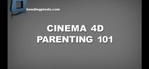Work with parenting in Cinema 4D