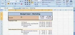 Merge a range of cells in Microsoft Excel 2000