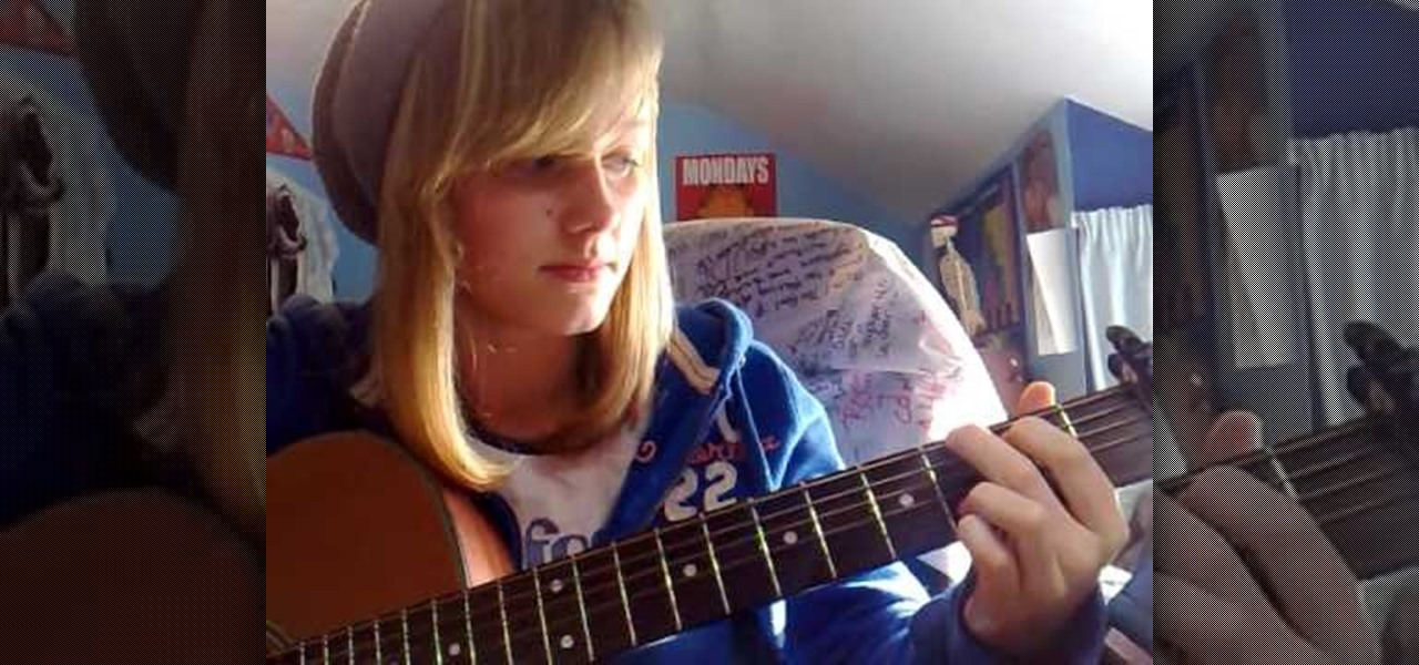 How to Play a medley of four-chord songs on acoustic guitar ...