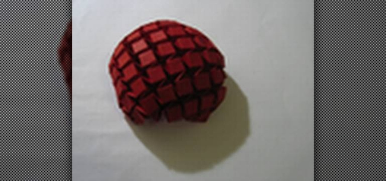 how to origami a water bomb tessellation 171 origami