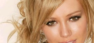 Get a Hilary Duff inspired eye look