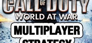 Use the tank effectively in multiplayer mode in Call Of Duty: World at War