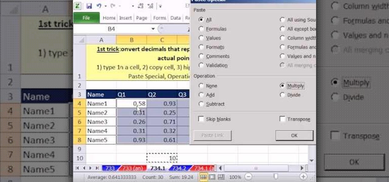 how to convert decimal or percentage grades into integer