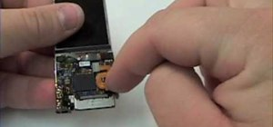 Disassemble a 5th Generation Apple iPod Nano