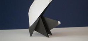 Fold an Origami Skunk