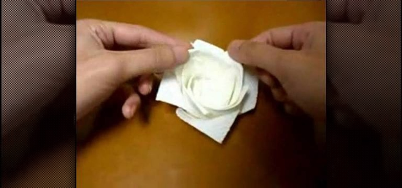 how to make flowers out of paper towels