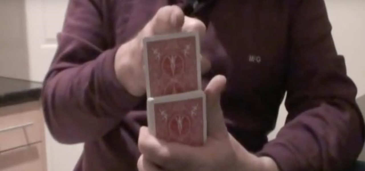 Levitate a Playing Card