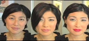 "Create Hikaru Utada's feminine makeup look from ""Come Back to Me"""